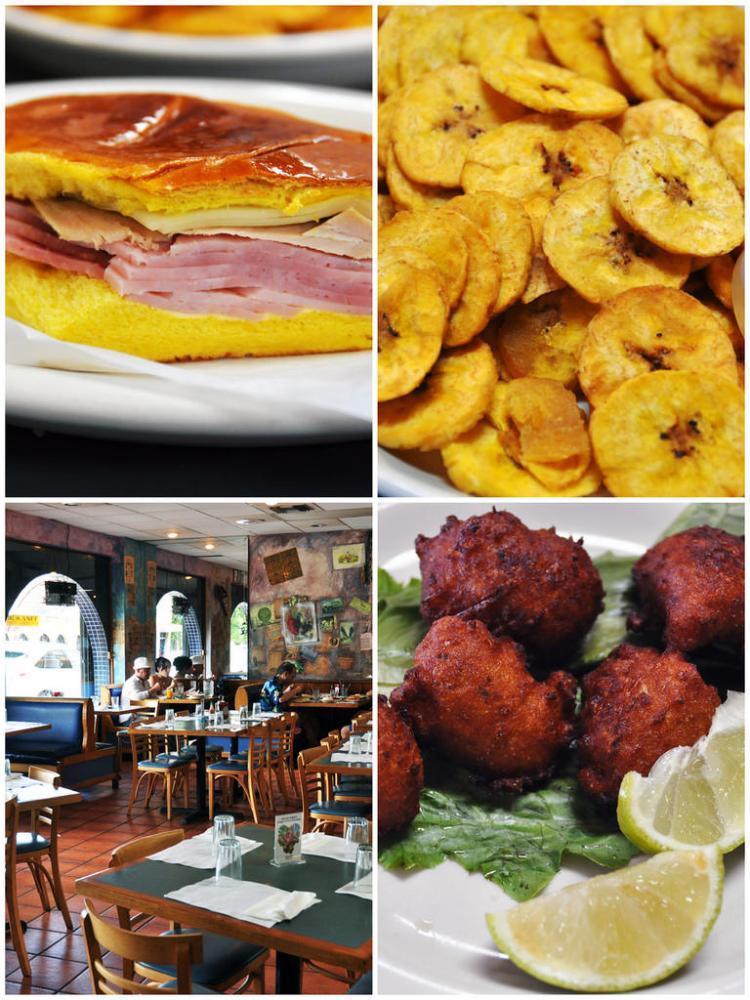 Food at El Pub