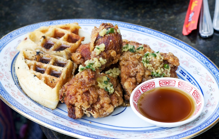 Chinese Fried Chicken & Waffles