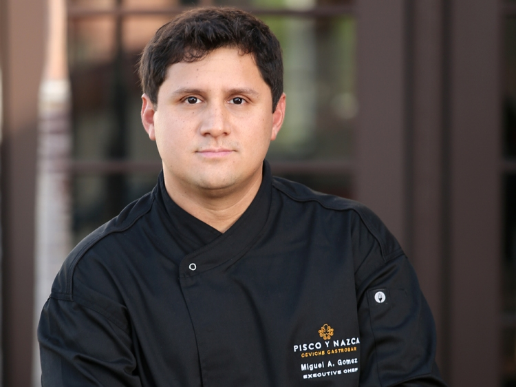 Chef Miguel Gomez - Photo by Pisco Y Nazca