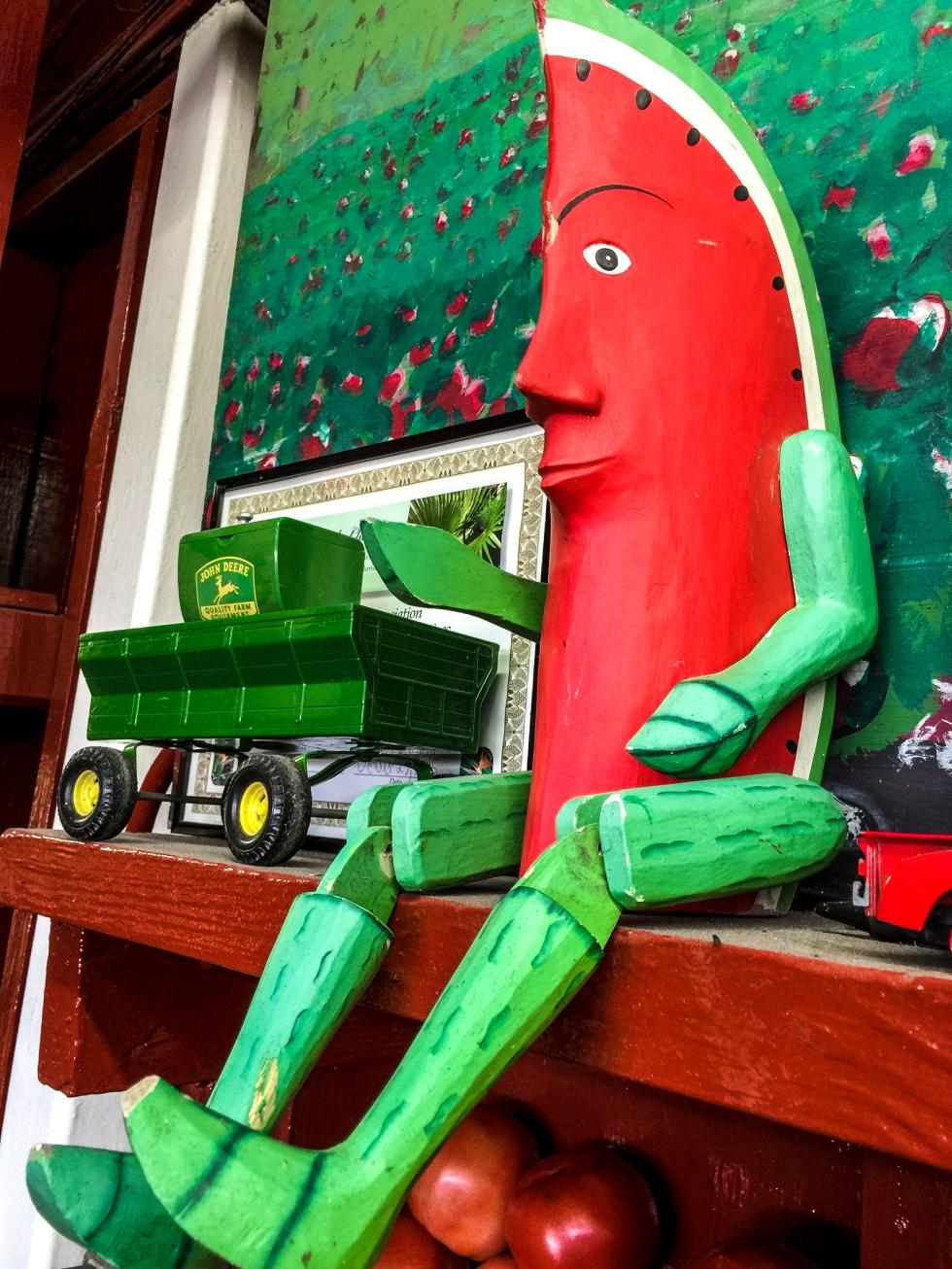 mr. watermelon man