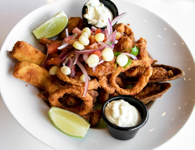 We shared a Jalea Del Mar - fried fish, seafood and yuca
