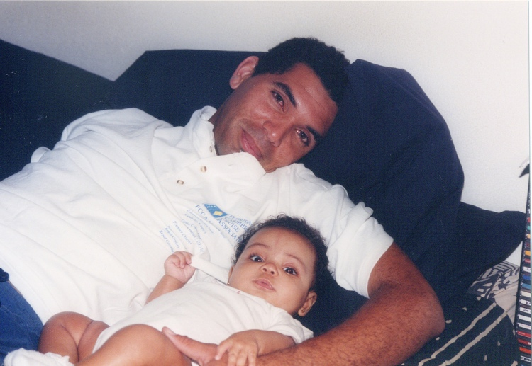 with daddy