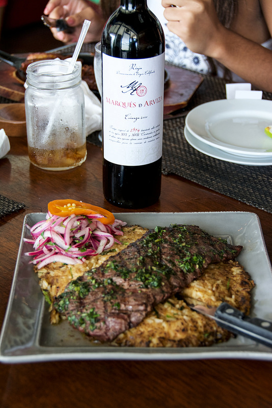 wine & meat