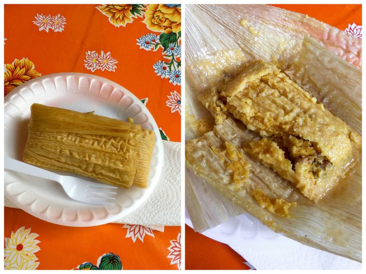 The famous tamales