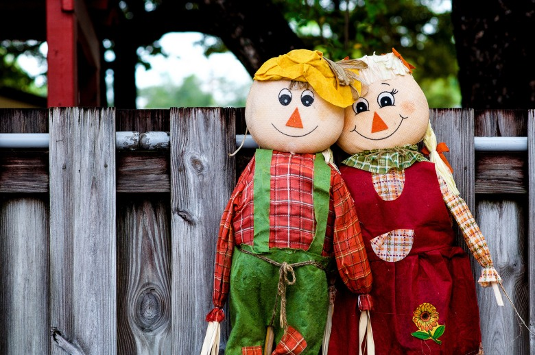 Not-so-scary scarecrows